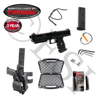 Tippmann TiPX Paintball Marker (Black) Deluxe GTA Package