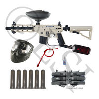 US Army Project Salvo Paintball Gun - Black and Tan Mega Set HPA