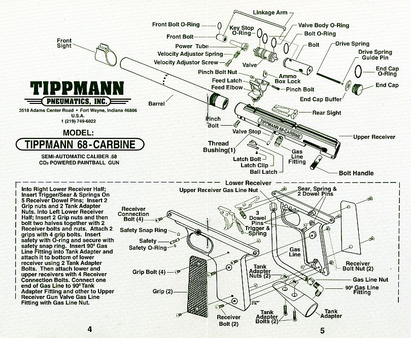 Amazing Tippmann 98 Custom Parts Diagram On Paintball Gun Parts Diagram Wiring 101 Taclepimsautoservicenl