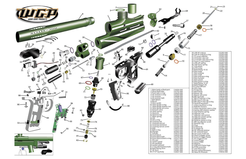 Worr Game Products Superstock Gun Diagram