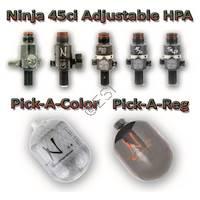 Adjustable Tank 45ci 4500F Pick a Reg