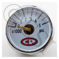 Micro Gauge with White Face