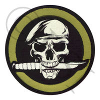 Skull & Knife Morale Patch
