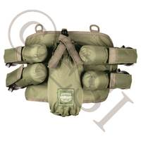 V-Tac 4+1 Harness - Olive