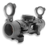 1x30 T-Style Red Dot Sight with 4 Different Reticles and a Weaver Ring Mount