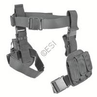 3 Piece Drop Leg Holster and Magazine Holder