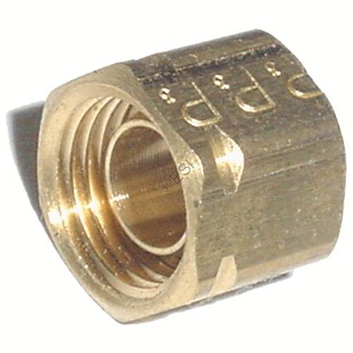 Gas line nut fitting pro lite pa