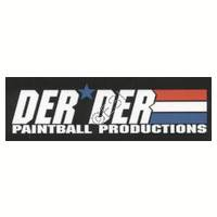 'DerDer Paintball' Sticker