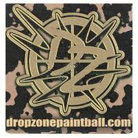 'Drop Zone' Sticker