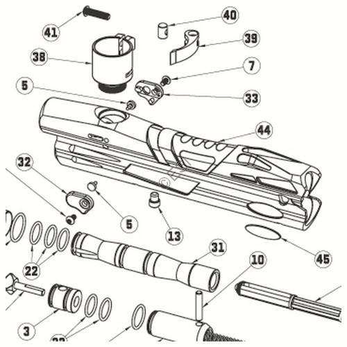 Extreme Rage Er3 Gun Diagram
