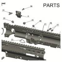 Tacamo Magazine Kit MKBT - BT4 Gun Diagram
