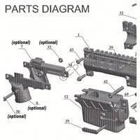 Tacamo Magazine Kit MKV-98 - 98 Custom Gun Diagram