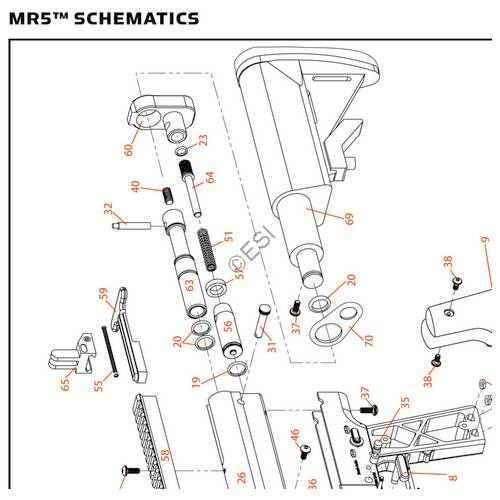 kingman spyder mr5 2013 gun diagram