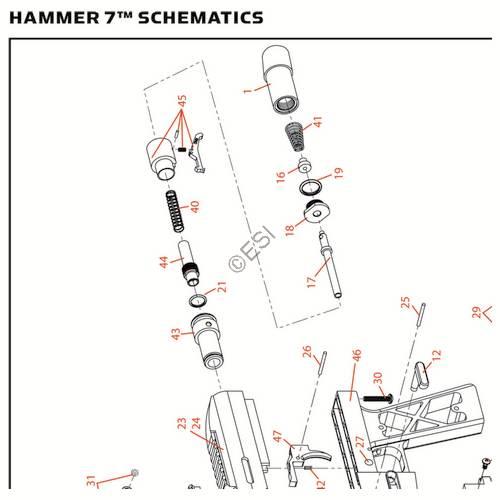 kingman spyder hammer 7 2013 gun diagram