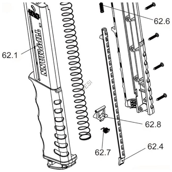 tippmann magazine diagram