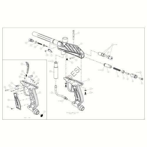 brass eagle raider gun diagram