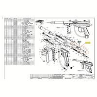 Brass Eagle T-Storm Gun V2 Diagram