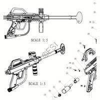 JT USA Tac 5M Recon Gun - Camo Diagram