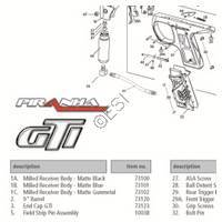 PMI Piranha GTI Gun Diagram