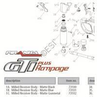 PMI Piranha GTI Plus Rampage Gun Diagram