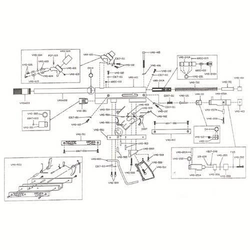 sheridan vm68 gun diagram