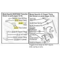 Tippmann 98 Custom Pro Platinum Series RT Gun Parts V080616 Diagram
