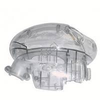 Body Half with Battery Door Lock - Left Side - Smoke [Evlution 2] 135539-000