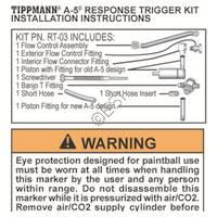 Tippmann A-5 RT Kit Installation Manual