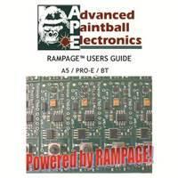 Tippmann 98 Custom Pro E APE Rampage Board V2 Manual