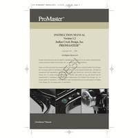 Indian Creek Designs ProMaster 2005 Gun Manual