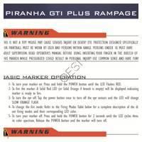 PMI Piranha GTI Plus Rampage Gun Manual
