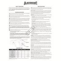Smart Parts Blackheart Board Manual