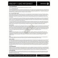 Smart Parts SP1 Gun Gases Info Sheet Manual