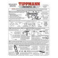 Tippmann 98 Custom Gun Low Pressure Kit Manual