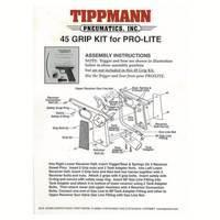 Tippmann Pro-Lite 45 Grip Kit Manual