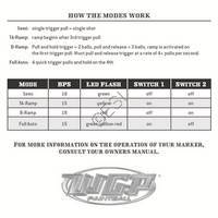 Worr Game Products Trilogy SF Gun Modes Manual